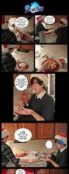 Christmas Birthday Cake :Rin+Yukio: by LauNachtyr