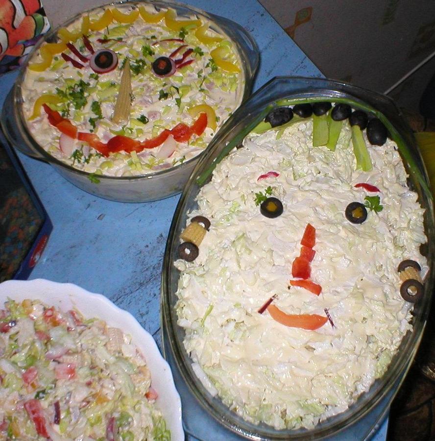 Salad decoration by ewablackwidowvshare on deviantart for Decoration salade
