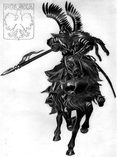 Polish Winged Hussar HUSARIA by EwaBlackWidowVsHare
