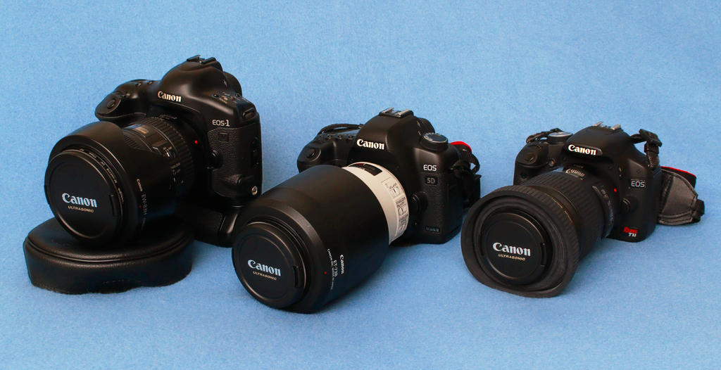 My Cameras by Ya-u