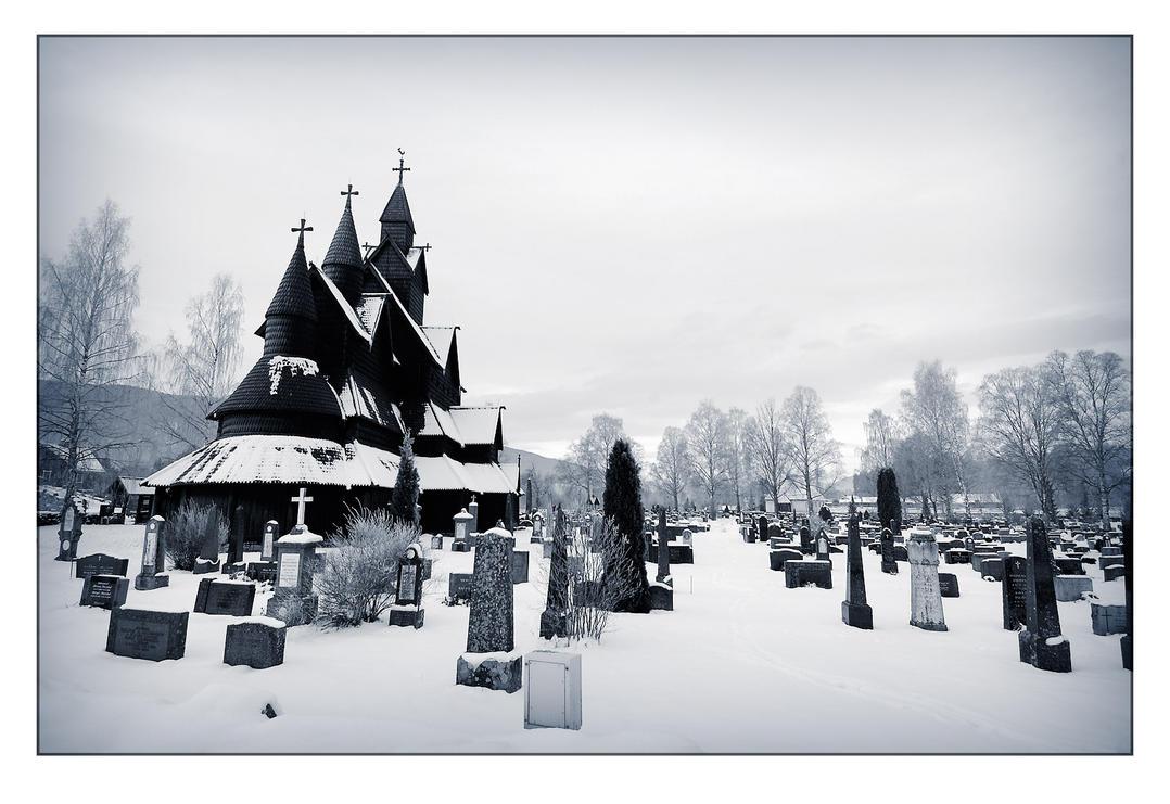 Stavkyrka _ old church by ImStuck