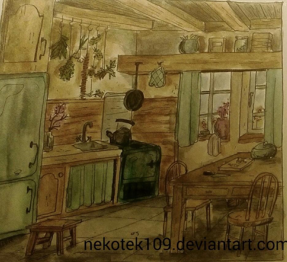 Kitchen by nekotek109