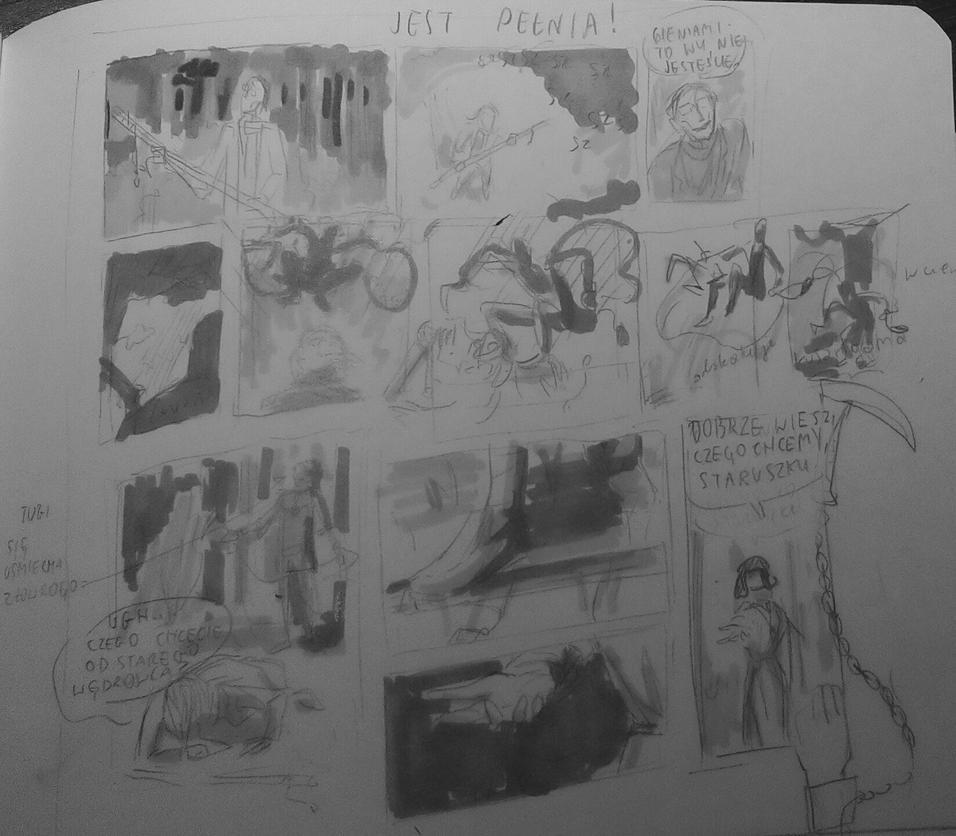 Storyboards by nekotek109
