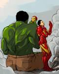 hulk like iron man