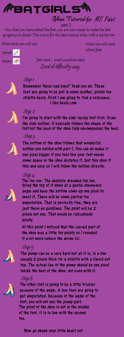 Shoe Tutorial part 2 by batty-mcbats