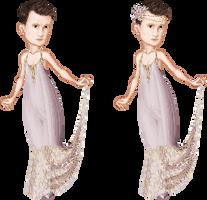 Matt Smith in a Pretty Dress