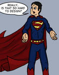 Superman sans Underwear