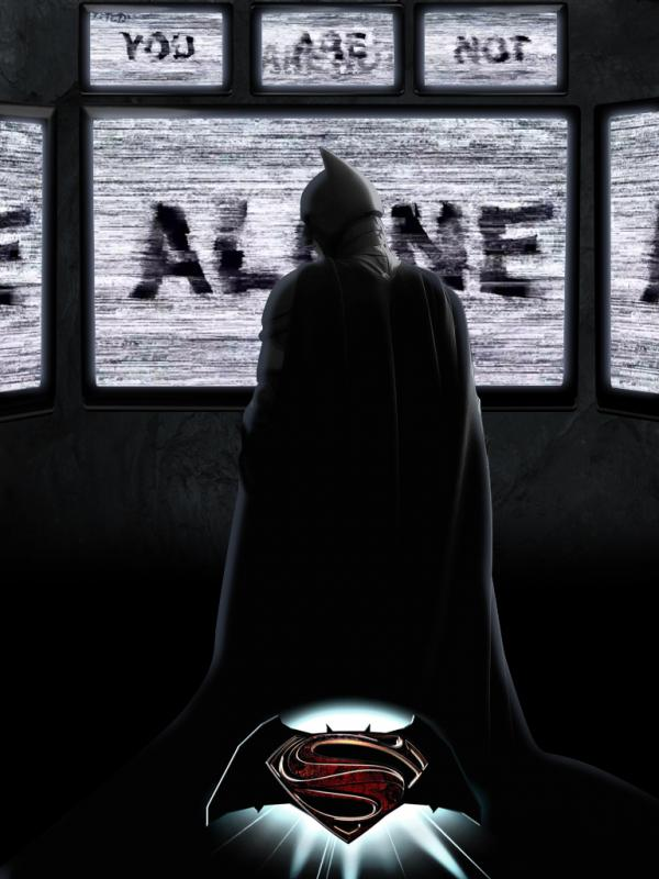 World's Finest Poster - Batman by RandomFilmsOnline