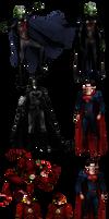 JLA - Character Sheets