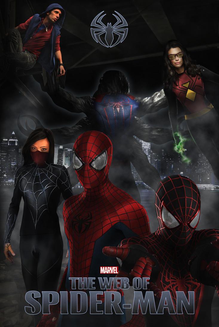 The web of spider man by randomfilmsonline on deviantart