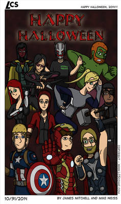 LCS - Halloween Avengers