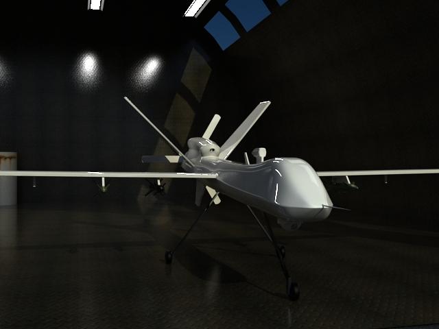 Reaper UAV By EnricoMulyadi