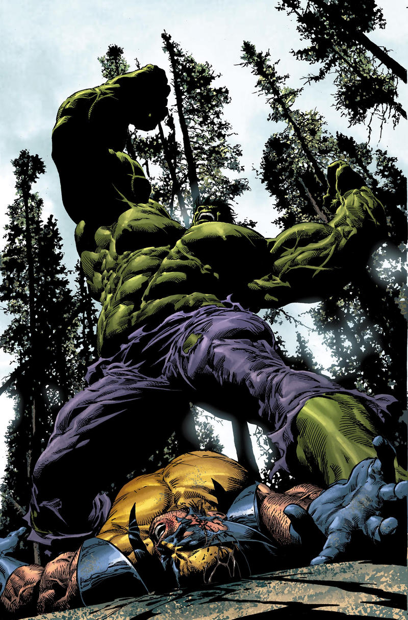 Hulk Smash by Summerset