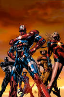 Dark Avengers 1,  2nd Print by Summerset