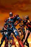 Dark Avengers 1,  2nd Print