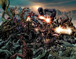 Dark Avengers 3 by Summerset