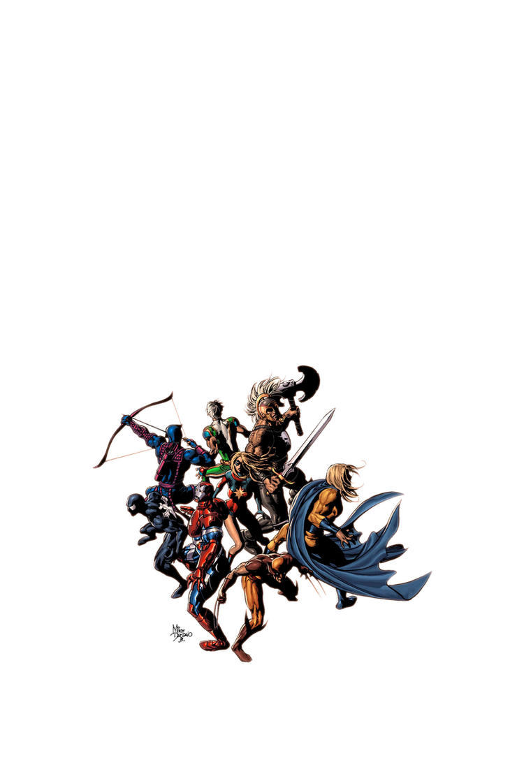 Dark Avengers 12 by Summerset