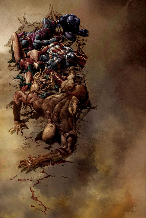 Dark Avengers 16 by Summerset
