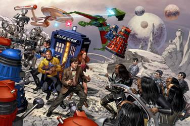 Star Trek vs Dr. Who by Summerset