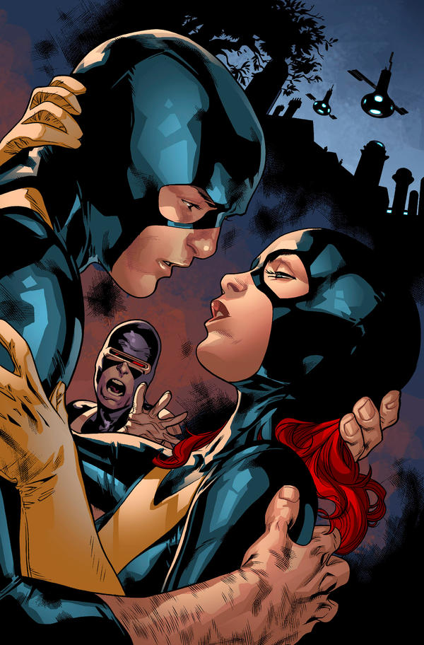 ALL NEW X-MEN 15 cover by Summerset