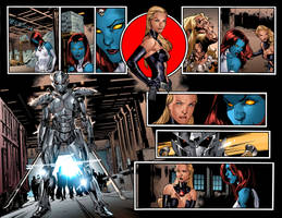 ALL NEW X-MEN #13 pages 10-11 by Summerset