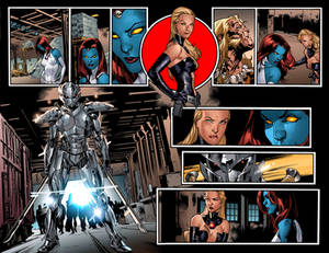 ALL NEW X-MEN #13 pages 10-11