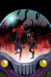 SPIDER-MEN#3 COVER by Summerset
