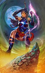 X-Men: PSYLOCKE by Summerset
