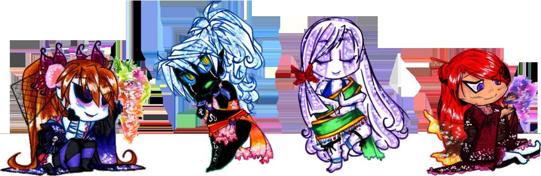 Chibi Lady Magic by suzux