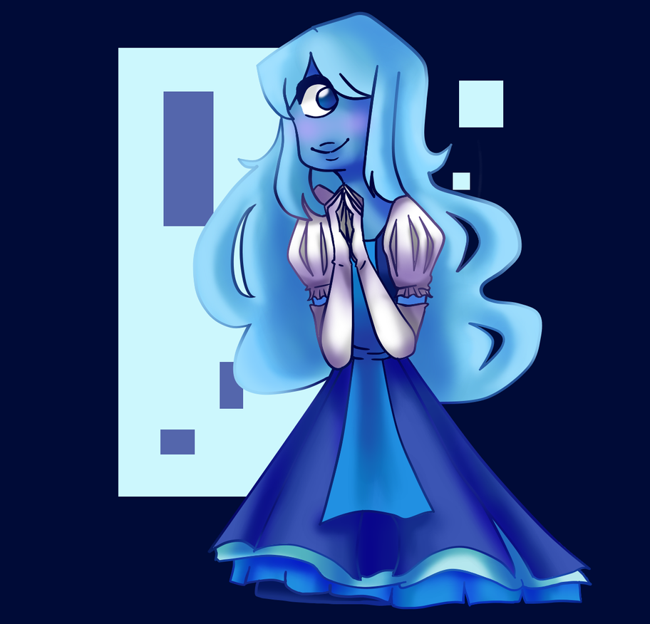 A fanart of Sapphire universe in my own style! I am still practicing digiart. But i find it interesting how to shade with different Colours!    support and follow me on my instagram ...