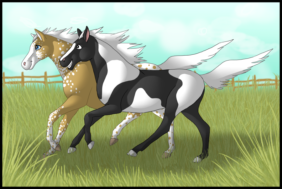 Deviantarts Robot Horse: Horses Running By Kenisya On DeviantArt