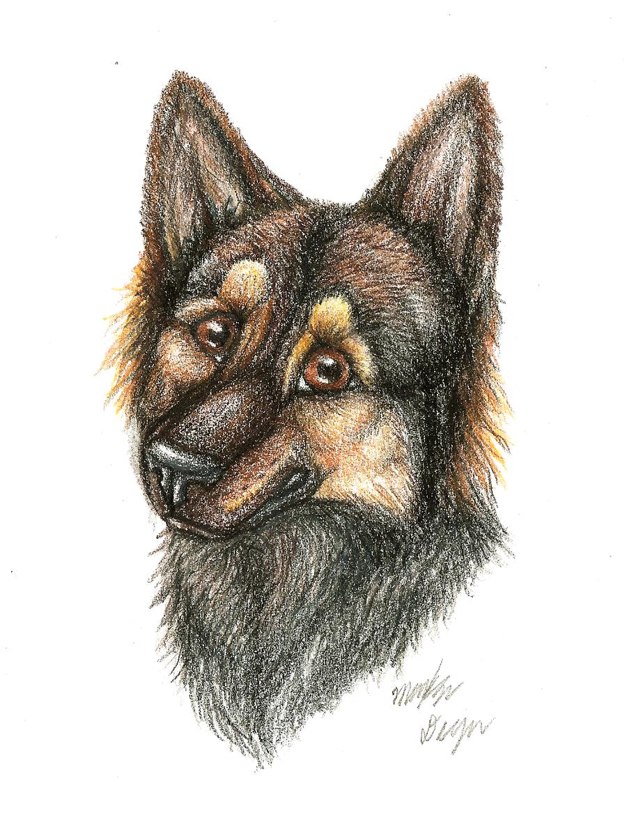Nikkia Portrait by Kenisya