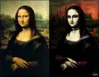 Mona Lisa by zwachnicka