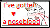 Nosebleed Stamp by Yaoi-SasuNaru-Love