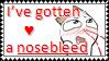 Nosebleed Stamp by Yaoi-SasuNaru-Love