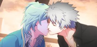 Kiss kiss kiss by Roku-chan
