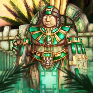 Olmec Golem
