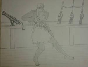 Female Arab Pirate