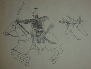 Persian style knight