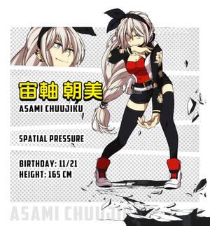 BnHA OC: Asami