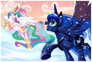 Snowball Fight Without Magic by Centchi