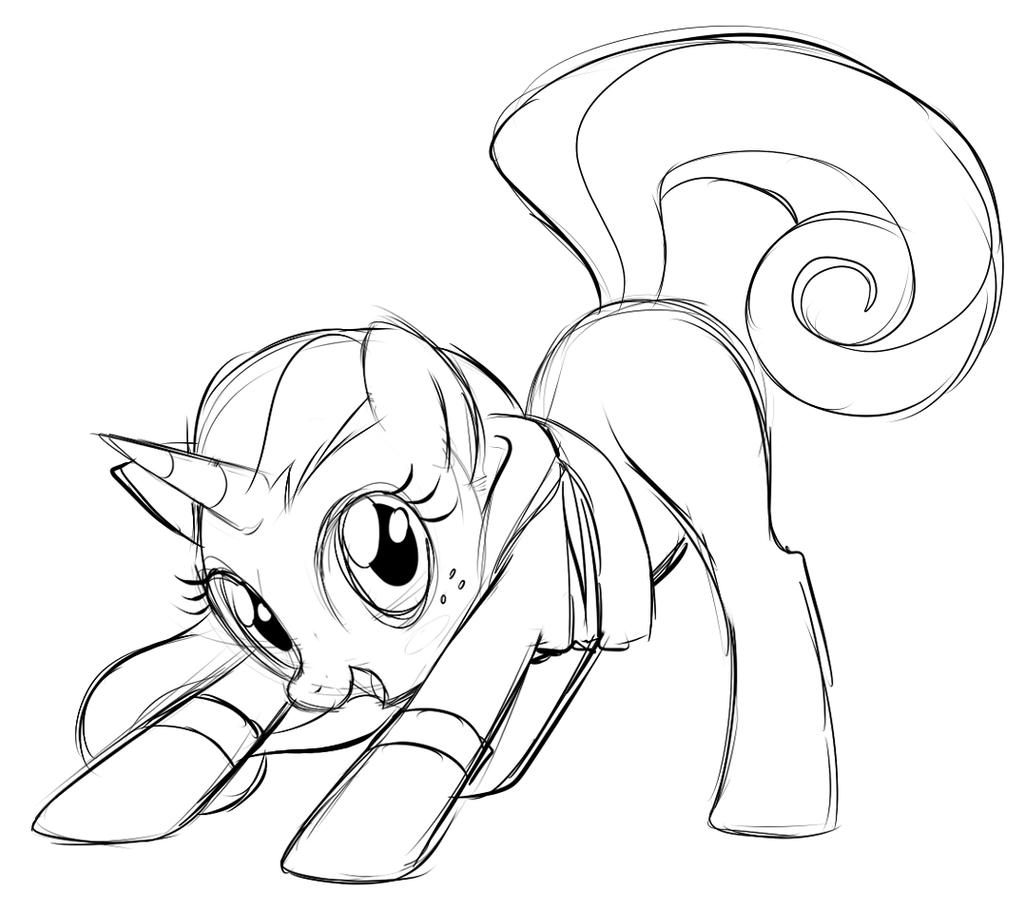 Pony Tail by Centchi