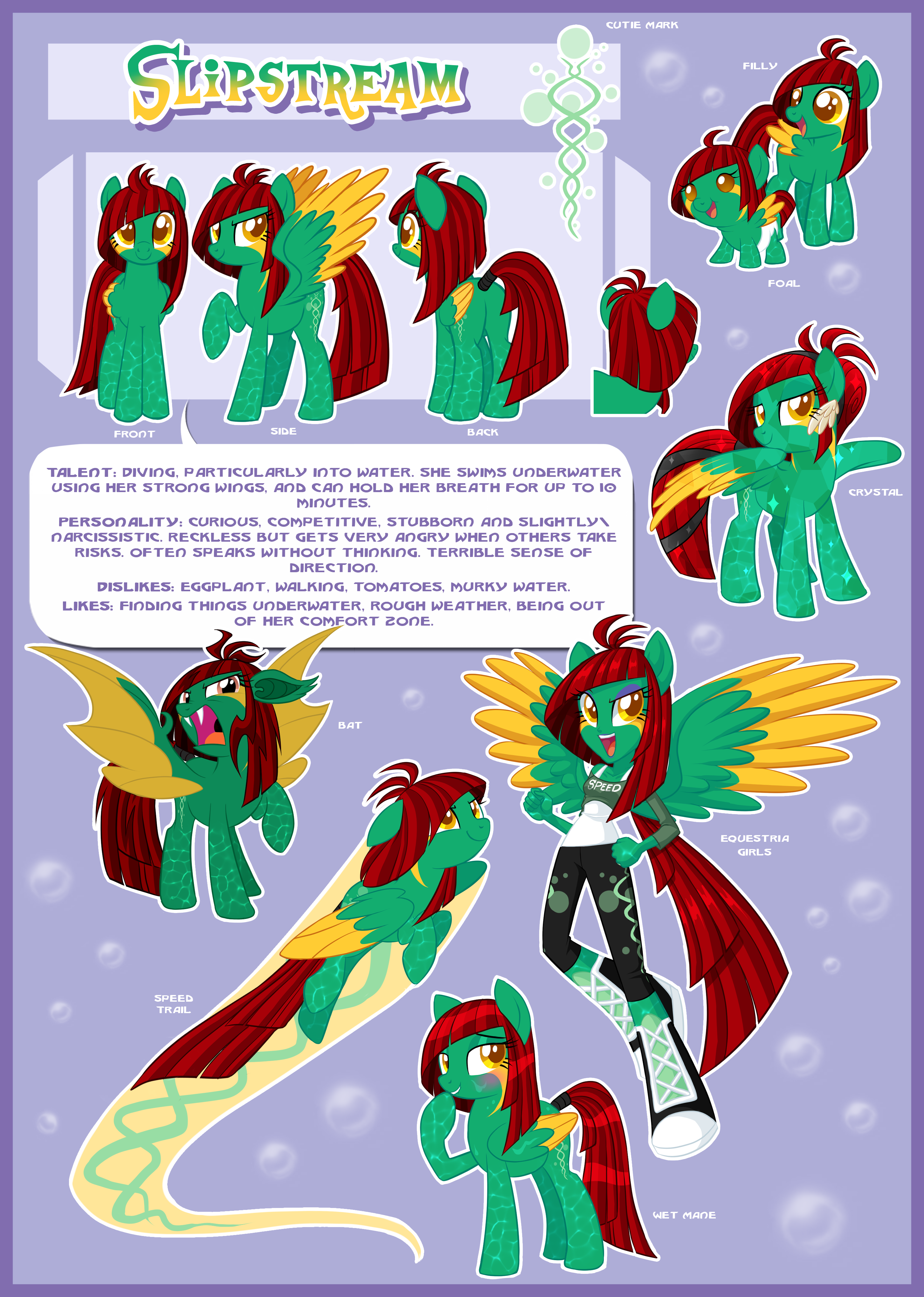 Slipstream Ultimate Reference Guide By Centchi On DeviantArt
