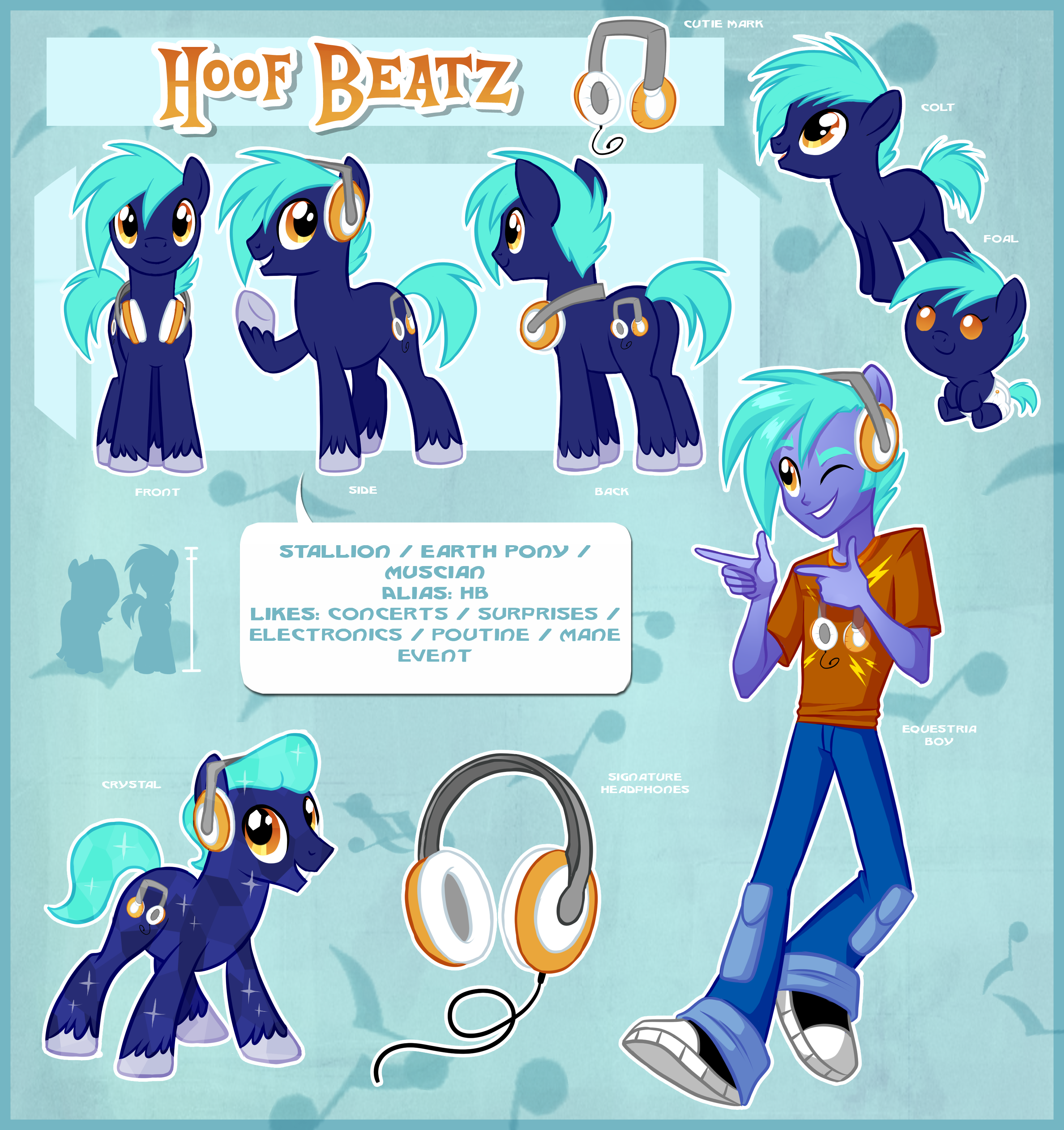 Hoof Beatz Official Reference Guide By Centchi On DeviantArt