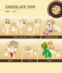 Chocolate Chip Reference Sheet