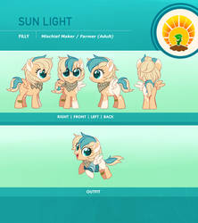 Sun Light Reference Sheet by Centchi
