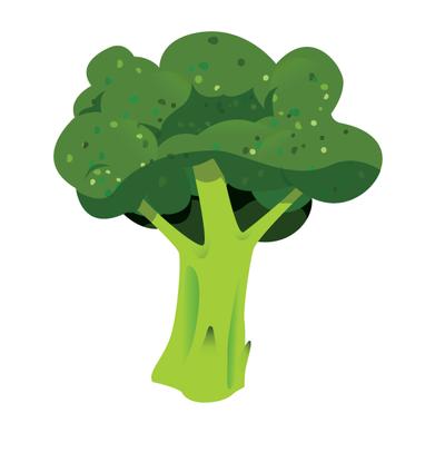 Broccoli by mi2x on DeviantArt