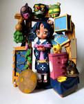 Aizome No Gunyu model kit