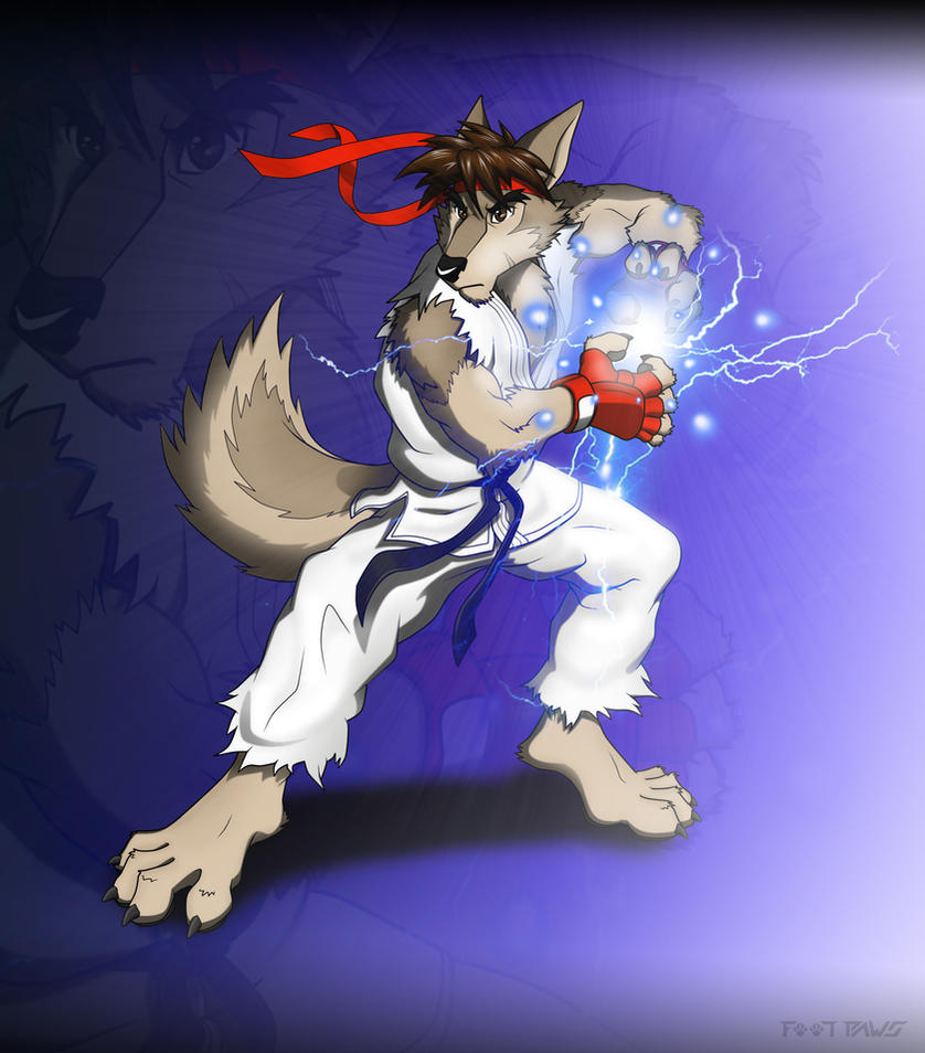 Ryu Furred Strike by Foot-paws