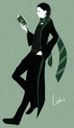 Loki In Slytherin by raven1003